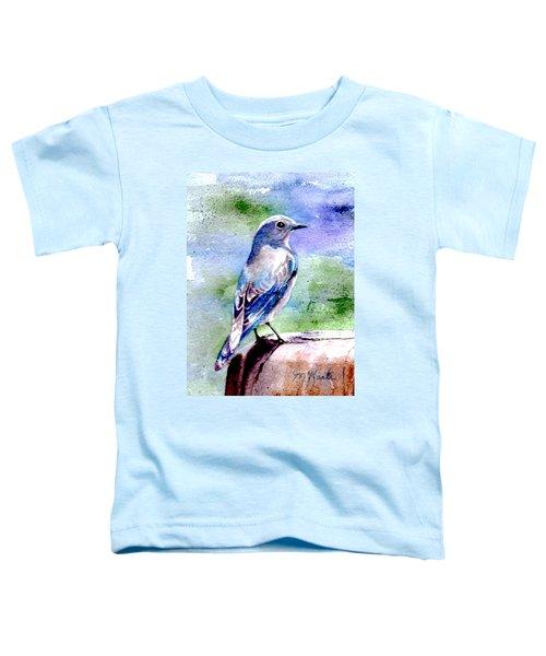 Firehole Bridge Bluebird - Female Toddler T-Shirt