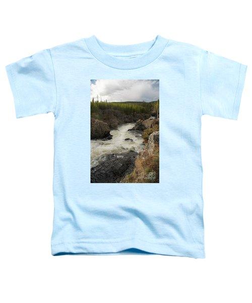 Firehole River Cascade Toddler T-Shirt