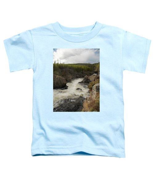 Firehole River Cascade Toddler T-Shirt