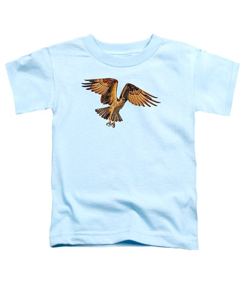 Flight Of The Osprey Toddler T-Shirt