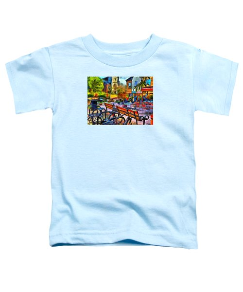 Floppy Bikes And Empty Benches Toddler T-Shirt