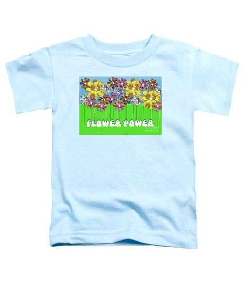 Flower Power Toddler T-Shirt