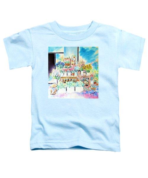 Flower Shop In Paris Toddler T-Shirt