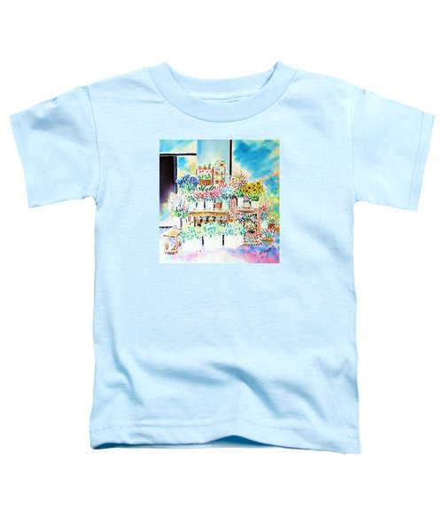 Flower Shop In Paris Toddler T-Shirt
