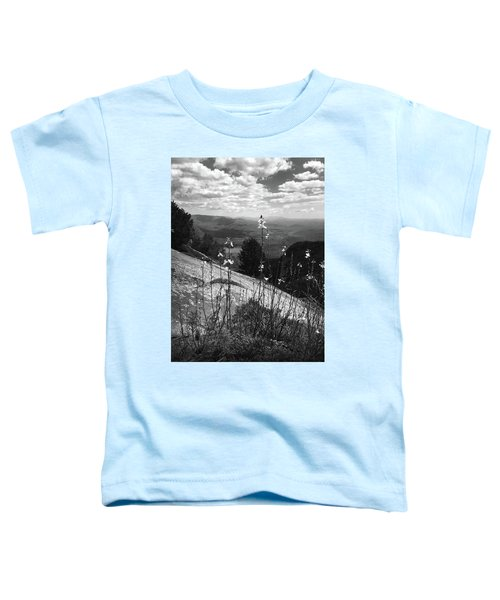 Flowers At The Top Of Table Rock Trail Toddler T-Shirt