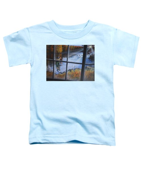 Fly Fisher Toddler T-Shirt