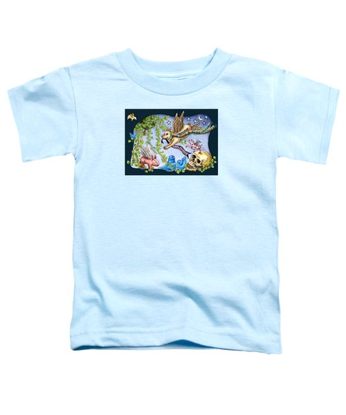 Flying Pig Party 2 Toddler T-Shirt