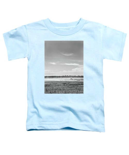 Foggy Day On A Marsh Toddler T-Shirt