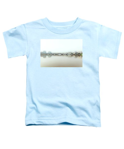 Foggy Day On Portland Downtown Waterfront Toddler T-Shirt