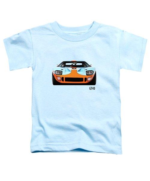 Ford Gt40 Mk 1 Toddler T-Shirt