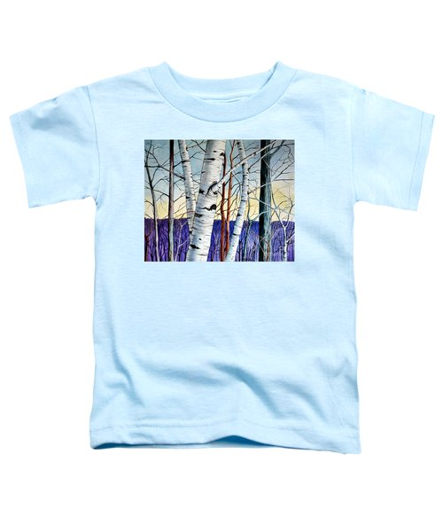 Forest Of Trees Toddler T-Shirt