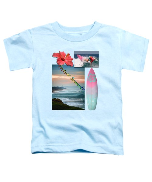 Toddler T-Shirt featuring the photograph Forever Summer 5 by Linda Lees