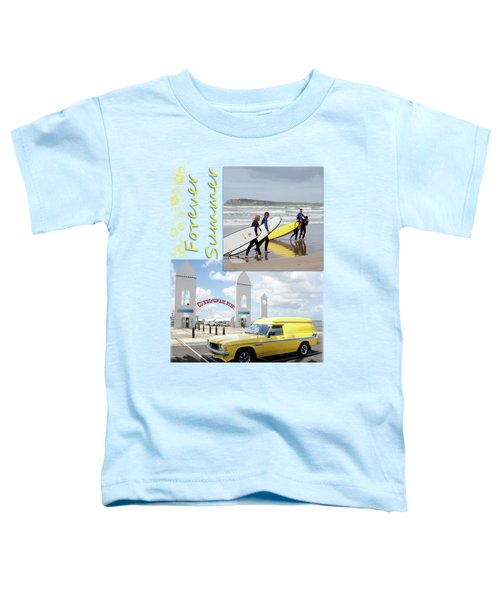 Toddler T-Shirt featuring the photograph Forever Summer 6 by Linda Lees