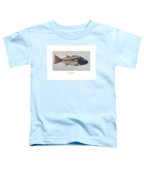 Fossil Fish Toddler T-Shirt