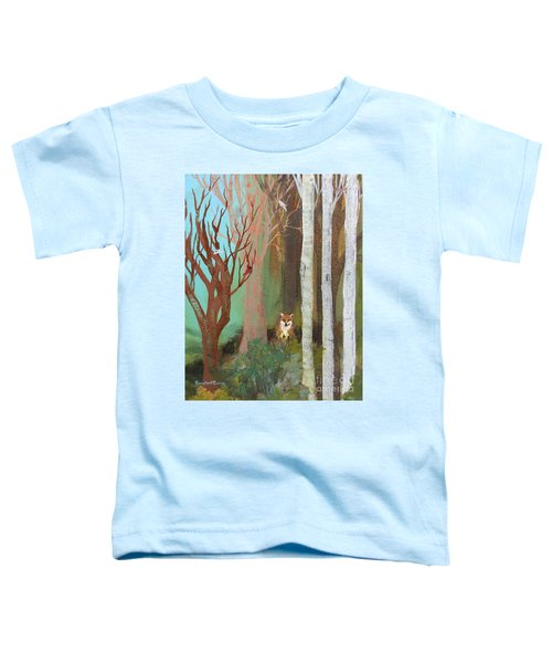 Fox In The Forest  Toddler T-Shirt