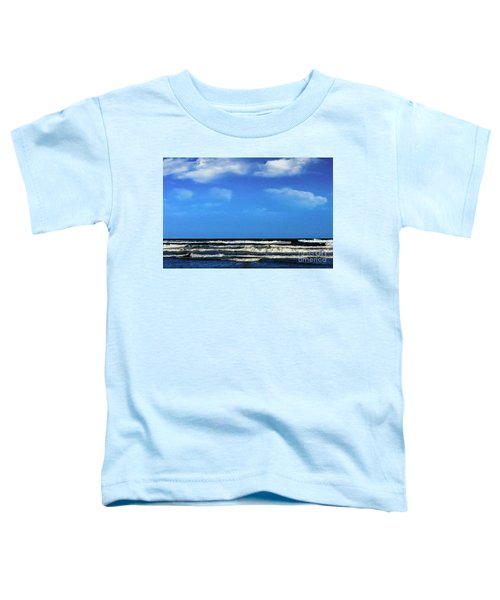 Freeport Texas Seascape Digital Painting A51517 Toddler T-Shirt
