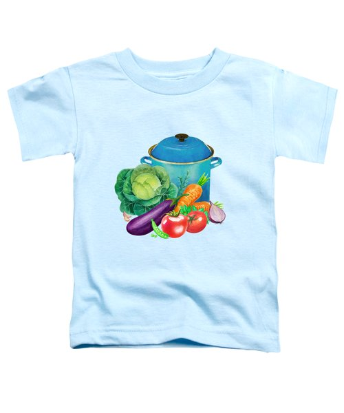 Fresh Vegetable Bounty Toddler T-Shirt