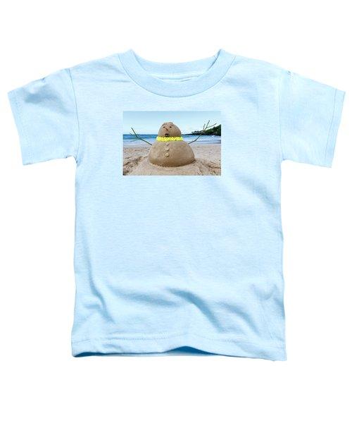 Frosty The Sandman Toddler T-Shirt