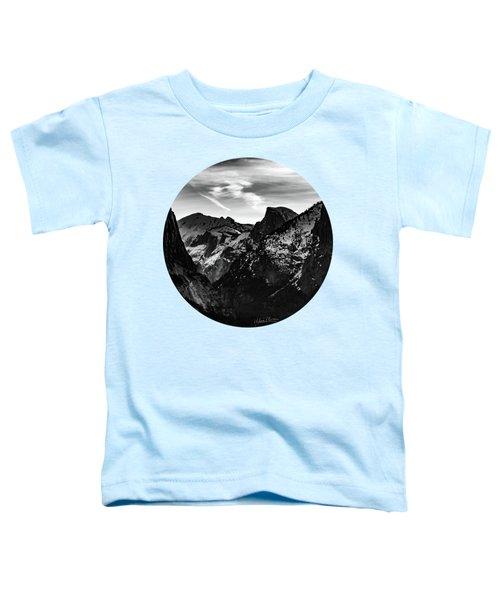 Frozen, Black And White Toddler T-Shirt by Adam Morsa