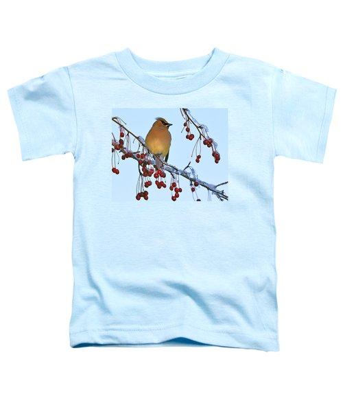 Frozen Dinner  Toddler T-Shirt by Tony Beck