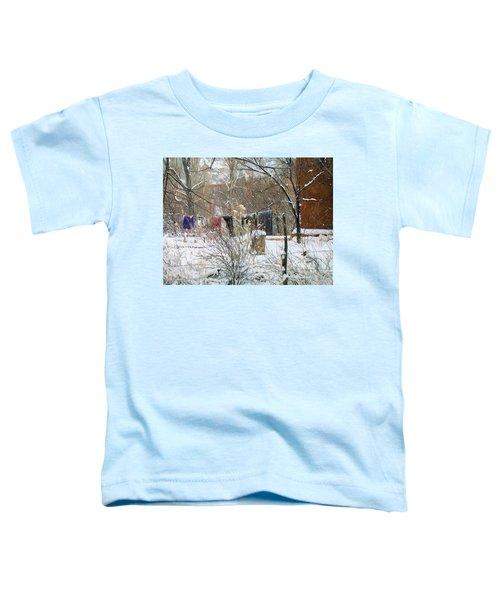 Frozen Laundry Toddler T-Shirt