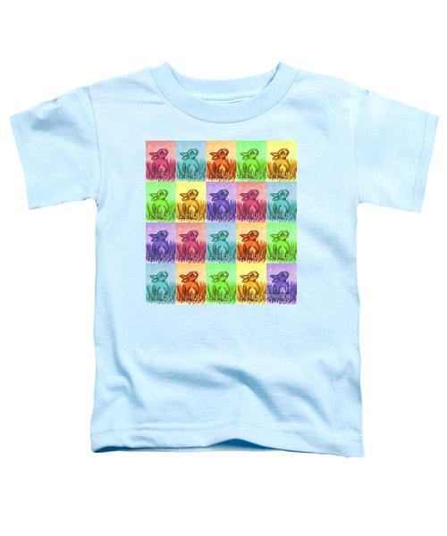 Fun Spring Bunnies Toddler T-Shirt