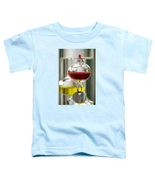 Toddler T-Shirt featuring the photograph Galileo Thermometer by Jeremy Lavender Photography