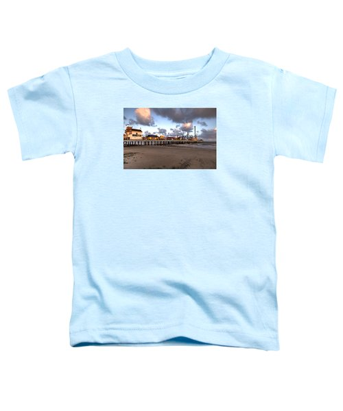 Galveston Island Historic Pleasure Pier Toddler T-Shirt