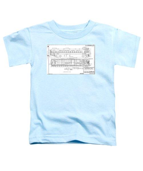 Gas Electric Car Diagram Toddler T-Shirt
