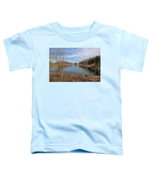 Gates Lake Toddler T-Shirt