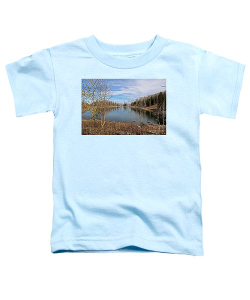 Gates Lake Toddler T-Shirt