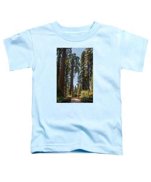 General Grant Tree Kings Canyon National Park Toddler T-Shirt