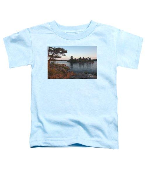 Georgian Bay Sunrise-4299 Toddler T-Shirt