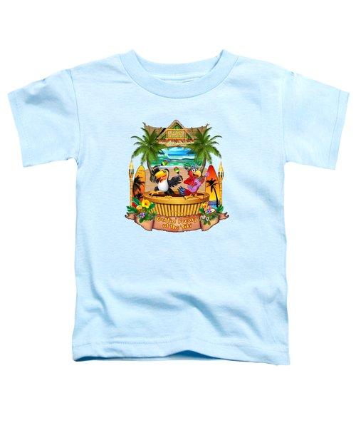 Gettin' Freaky At The Tiki Toddler T-Shirt