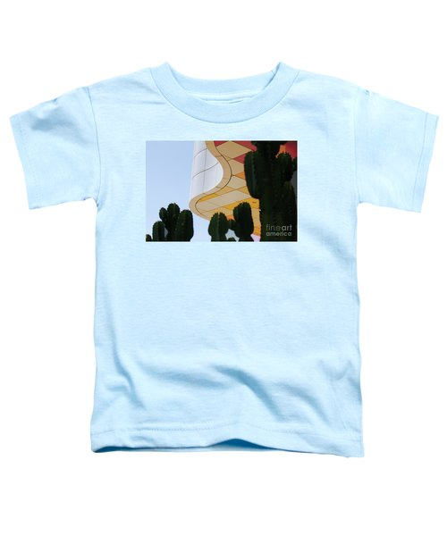 Getty Architecture Cactus Color Curves  Toddler T-Shirt