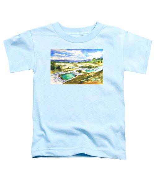 Geyser Basin, Yellowstone Toddler T-Shirt