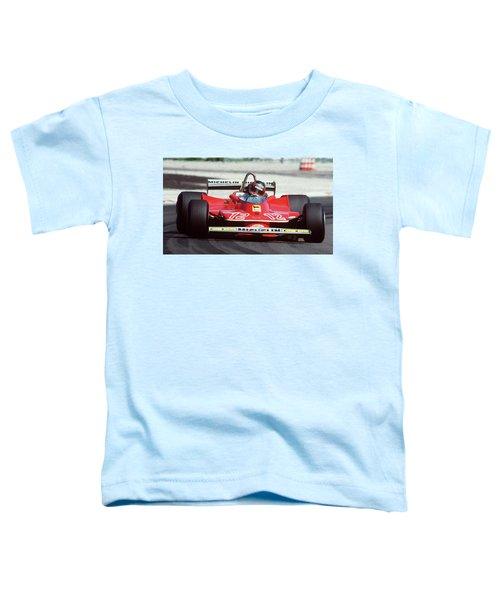 Gilles Villeneuve, Ferrari Legend - 01 Toddler T-Shirt