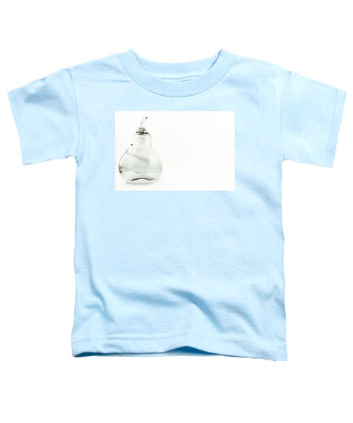 Glass Pear In Black And White Toddler T-Shirt