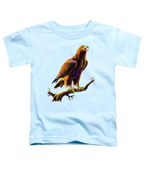 Golden Eagle Toddler T-Shirt by Anthony Mwangi