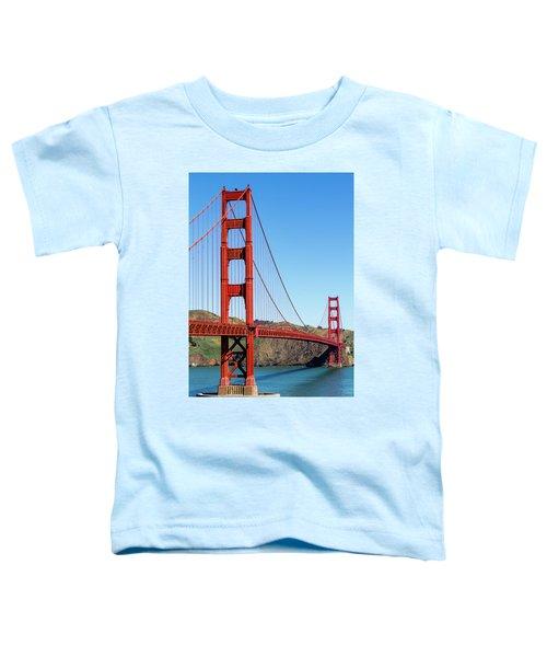 Golden Gate Bridge On Sunny Morning Toddler T-Shirt