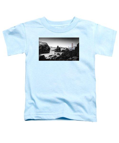 Golden Gate Colour Toddler T-Shirt