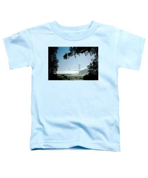 Golden Gate Fog  Toddler T-Shirt