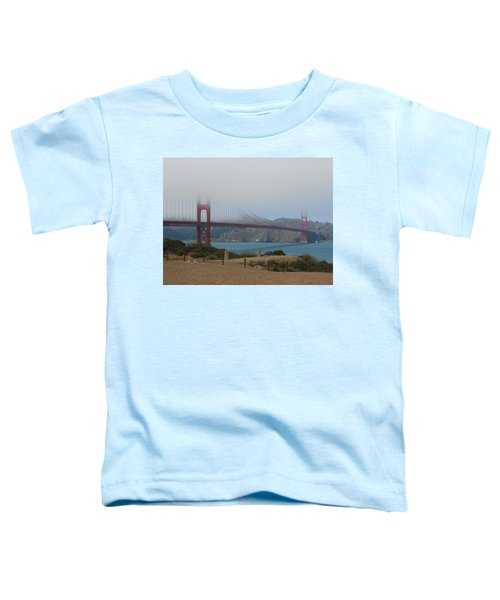 Golden Gate In The Clouds Toddler T-Shirt