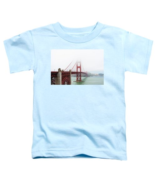 Golden Gate In The Fog Toddler T-Shirt