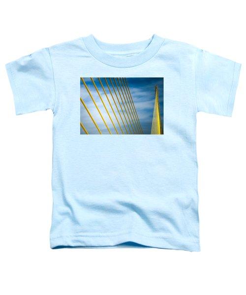 Golden Glow Of Tampa Toddler T-Shirt