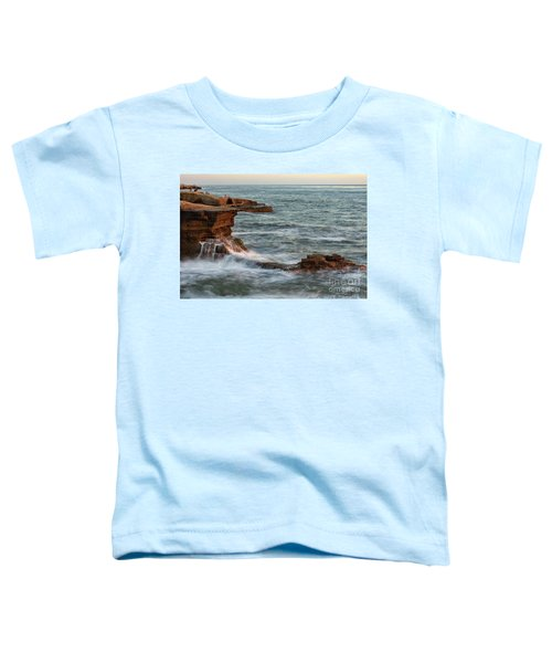 Golden Hour At Sunset Cliffs Toddler T-Shirt