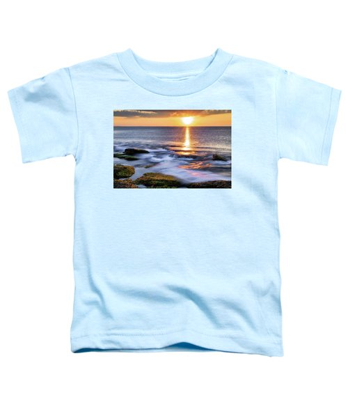 Golden Light Sunset, Rockport  Ma. Toddler T-Shirt
