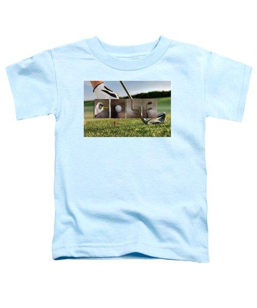 Golf Toddler T-Shirt