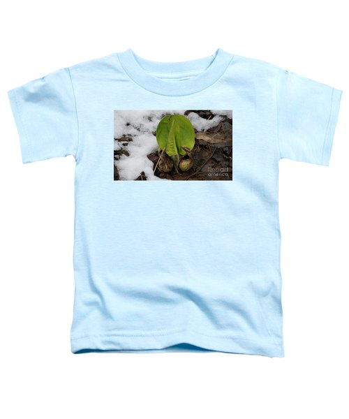 Goodbye Winter Toddler T-Shirt