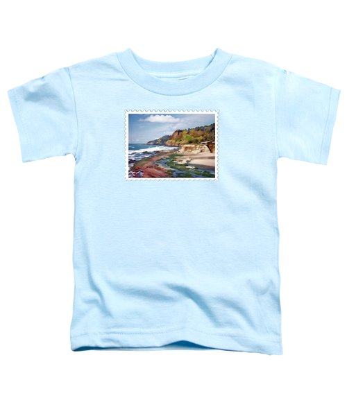 Gorgeous Oregon Coast Toddler T-Shirt
